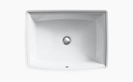 Kohler Archer® Vitreous China under-mount sink K-2355-95