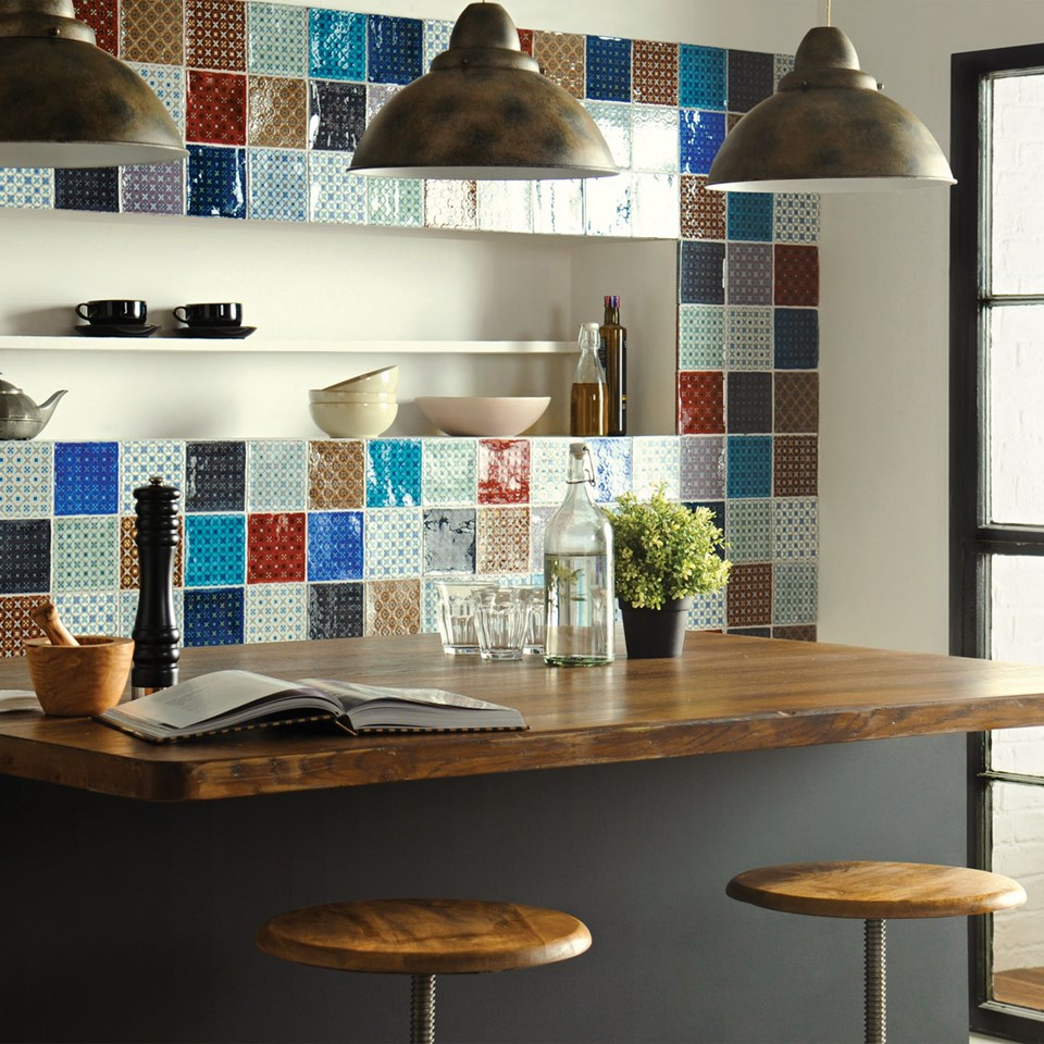 Ceramic tiles floor tiles and imported tiles for your home for Kitchen tile design ideas