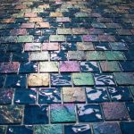 custom glass tile from Gaumats International